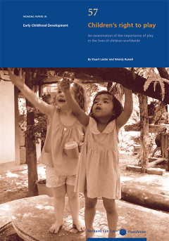 IPA Working Paper on the Child's Right to Play (English Version)
