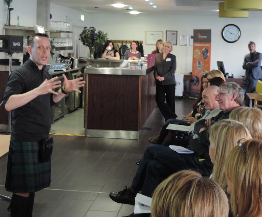 Storyteller Andy Cannon brings back memories of play
